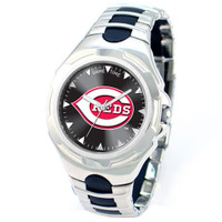*Cincinnati Reds MLB Men's Game Time MLB Victory Series Watch
