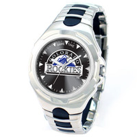 *Colorado Rockies MLB Men's Game Time MLB Victory Series Watch