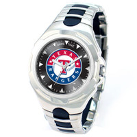 *Texas Rangers MLB Men's Game Time MLB Victory Series Watch