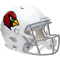*Arizona Cardinals Authentic Proline Riddell Revolution Speed Football Helmet