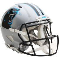 *Carolina Panthers Authentic Proline Riddell Revolution Speed Football Helmet
