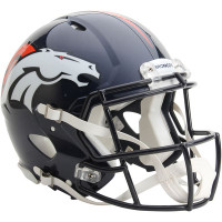 *Denver Broncos Authentic Proline Riddell Revolution Speed Football Helmet