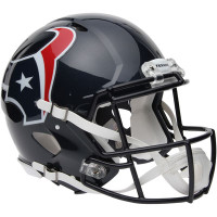 *Houston Texans Authentic Proline Riddell Revolution Speed Football Helmet
