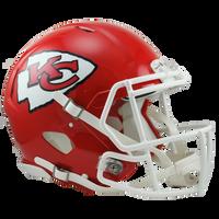 *Kansas City Chiefs Authentic Proline Riddell Revolution Speed Football Helmet