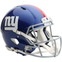 *New York Giants Authentic Proline Riddell Revolution Speed Football Helmet