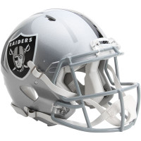 *Oakland Raiders Authentic Proline Riddell Revolution Speed Football Helmet