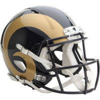 Los Angeles Rams Authentic Proline Riddell Revolution Speed Football Helmet