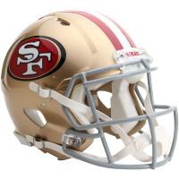 *San Francisco 49ers Authentic Proline Riddell Revolution Speed Football Helmet
