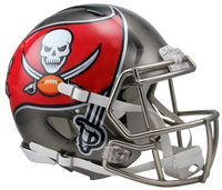*Tampa Bay Buccaneers Authentic Proline Riddell Revolution Speed Football Helmet