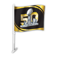 **Super Bowl 50 Car Flag