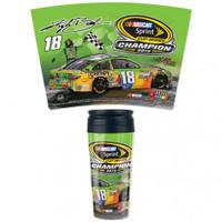 Kyle Busch 2015 NASCAR Sprint Cup Champion 16oz Travel Mug