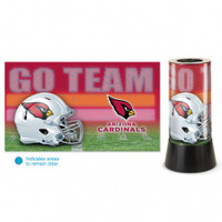 Arizona Cardinals Rotating Team Lamp