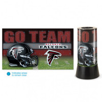Atlanta Falcons Rotating Team Lamp