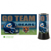Chicago Bears Rotating Team Lamp
