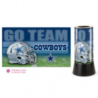 Dallas Cowboys Rotating Team Lamp