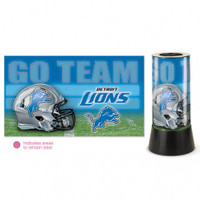 Detroit Lions Rotating Team Lamp