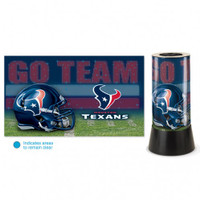 Houston Texans Rotating Team Lamp