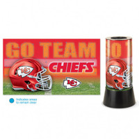 Kansas City Chiefs Rotating Team Lamp