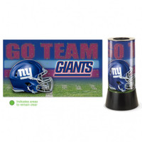 New York Giants Rotating Team Lamp