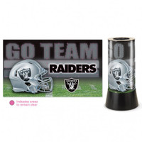 Oakland Raiders Rotating Team Lamp