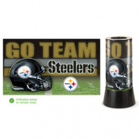Pittsburgh Steelers Rotating Team Lamp