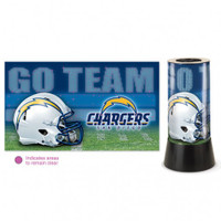 San Diego Chargers Rotating Team Lamp