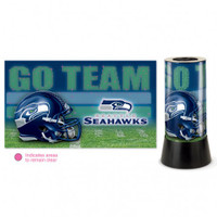 Seattle Seahawks Rotating Team Lamp