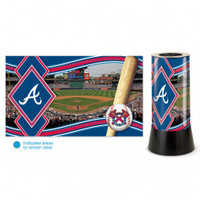 Atlanta Braves Rotating Team Lamp