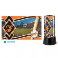 Baltimore Orioles Rotating Team Lamp