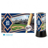 Detroit Tigers Rotating Team Lamp