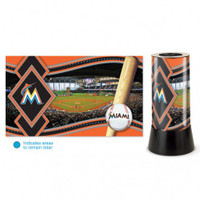 Miami Marlins Rotating Team Lamp