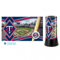 Minnesota Twins Rotating Team Lamp