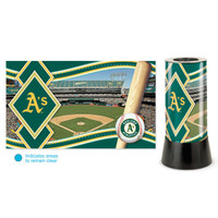 Oakland Athletics Rotating Team Lamp