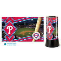 Philadelphia Phillies Rotating Team Lamp