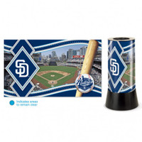 San Diego Padres Rotating Team Lamp