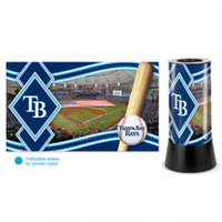 Tampa Bay Rays Rotating Team Lamp
