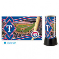 Texas Rangers Rotating Team Lamp