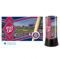 Washington Nationals Rotating Team Lamp