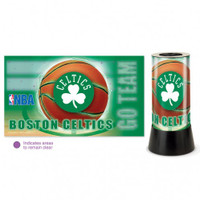 Boston Celtics Rotating Team Lamp