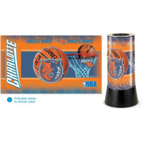 Charlotte Bobcats Rotating Team Lamp