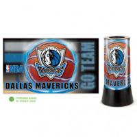 Dallas Mavericks Rotating Team Lamp