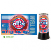 Detroit Pistons Rotating Team Lamp