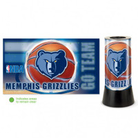 Memphis Grizzlies Rotating Team Lamp