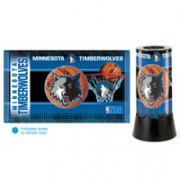 Minnesota Timberwolves Rotating Team Lamp