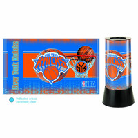 New York Knicks Rotating Team Lamp