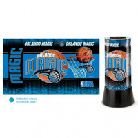 Orlando Magic Rotating Team Lamp