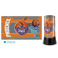 Phoenix Suns Rotating Team Lamp