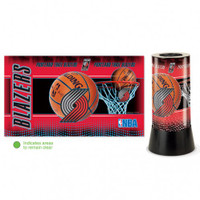 Portland Trail Blazers Rotating Team Lamp