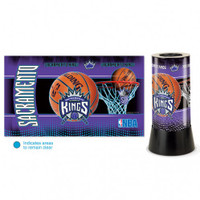 Sacramento Kings Rotating Team Lamp