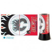 Calgary Flames Rotating Team Lamp
